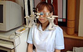 下顎の前歯の運動路